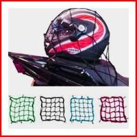 Jaring Helm Tali Jaring Pengikat Helm Motor Pengait Barang Tas Aksesor