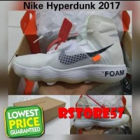 Terbaik Sepatu Basket - Nike Air Hyperdunk Off White - Sepatu Nike