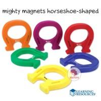 Zoetoys Paket Mighty Magnets Horseshoe-shaped + Chip | mainan edukasi