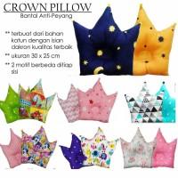 Bolak Balik Crown Pillow Baby Bantal Anti Peang Bayi Peyang