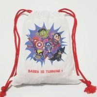 Tas Ransel Backpack Totebag Pouch Souvenir Belacu Blacu - Avenger