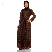 Gamis Syari Batik Amira