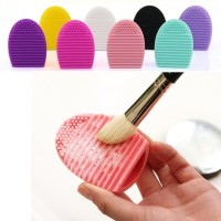 EGG BRUSH ALAT PENCUCI KUAS MAKE UP ARTIS BRUSH SPON PEMBERSIH MUA SET