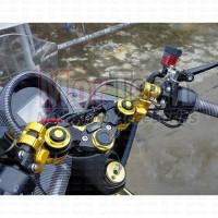 Black Diamond Stang Stir Jepit+ pangkon Segitiga Honda All New PCX 150