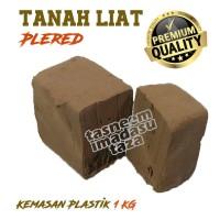 Tanah Liat PLERED Kualitas SUPER CLAY 1 KG -Prakarya/Kerajinan Keramik