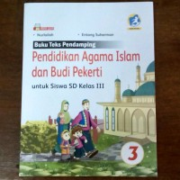 Buku Pendidikan Agama Islam dan Budi Pekerti SD Kelas 3 Kur. 2013 Rev