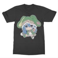 Kaos Anime Date a Live Yoshino Chibi - Anime - Manga - Tshirt