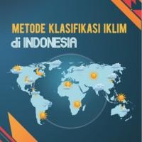 Buku Metode Klasifikasi Iklim di Indonesia