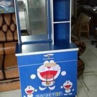 Meja Rias Karakter Doraemon/Hello Kitty/Keroppi - Promo murah