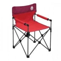 SLIM CHAIR WITH CUP HOLDER (RED)
