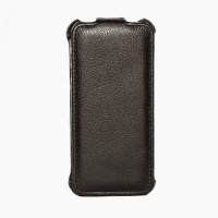 Casing Apple IPhone 5/5S Kulit Asli J/Flip Black LC