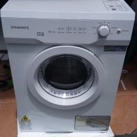 Dryer / Pengering Laundry Diamante 9kg Baru Konversi gas