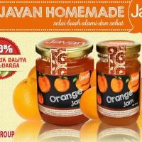 Javan Homemade - Orange Jam 120gr, selai buah jeruk roti sehat