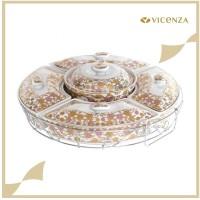Vicenza Snack Prasmanan - Wadah Saji H14 Motif Lolli