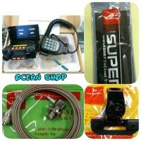 Harga paket radio rig mini dual band plus antena super gainer sg 2000 | antitipu.com