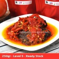 Dendeng Balado Batokok (Cabe Merah) PEDAS LEVEL 5 - ASLI PADANG