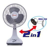 Harga kipas angin meja desk fan 7 inch 2in1 cosmos | antitipu.com