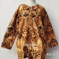 Blouse batik anak perempuan lengan panjang size XL bahan katun