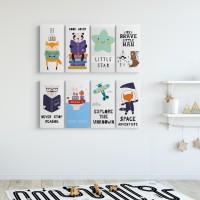 Dekorasi Kamar anak hiasan dinding kids home decor Poster anak