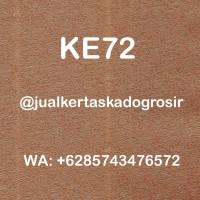 KERTAS KADO EKSKLUSIF / FANCY PAPER CRAFT - COKLAT GOLD KE72