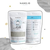 Masker Wajah Organik Facemask Namo.id Varian Milk for Brightening