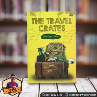 The Travel Crates - Rudy Kurniawan. Buku Travelling Preloved Bagus