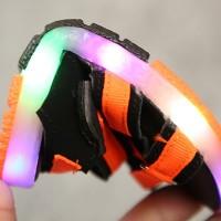 Sepatu Sandal Casual Sol Lembut Anti Slip dengan Lampu LED untuk Anak