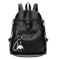 tas ransel shoulder bag tas import wanita hitam jinjing tote bag 11415