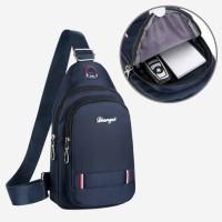 tas impor selempang tas pria sling bag tas murah korea 20205 waist bag