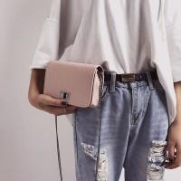 tas pesta tas import wanita tas selempang pink clutch pesta murah