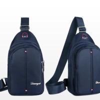tas pria selempang tas punggung back pack waist bag import 20206