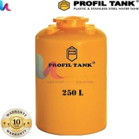 Toren Air Profiltank TDA 250 L Tandon Tangki Air Profil Tank Plastik
