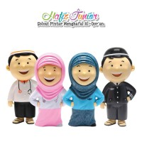 Hafiz hafizah junior sepasang doll talking