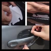 Stiker Anti Gores Pelindung Gagang Mobil Pintu Car Handle Sticker Unik