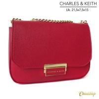 Harga charles and keith classic push lock crossbody | antitipu.com