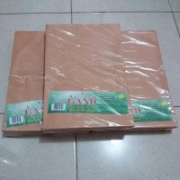 New Amplop Coklat Samson Folio Gand 80 Gr / Amplop Coklat F4 Gand
