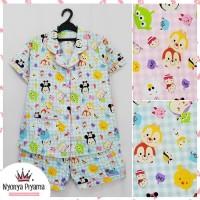Baju Tidur Wanita /Piyama Celana Pendek Baju Tidur Wanita PDW133
