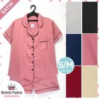 Piyama Dewasa Celana Pendek Baju Tidur Wanita PDW129