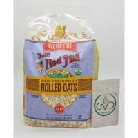 Organic Gluten Free Rolled Oat (907 g)