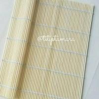 HOT SALE sushi bamboo mat bambu sushi 24x24 cm Terjamin