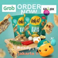 Yolk It fish skin lagi ada Promo