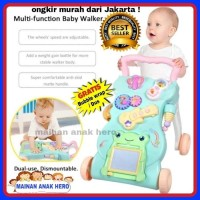 Harga baby walker push walker alat bantu bayi belajar jalan kereta | Pembandingharga.com