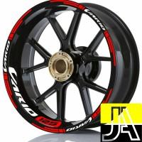 stiker velg motor wheels sticker new Honda Vario 125 ring 14