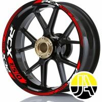 Stiker list velg motor wheel sticker honda pcx 150 v1 ring 14