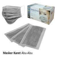 Masker Karet Abu-abu OneMed box isi 50 pcs