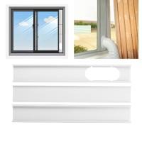 3Pcs 1.9M Adjust Air Conditioner Window Vent Plate Air Conditioner