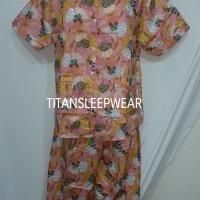 Harga 985setelan piyama katun jepang bunga celana | antitipu.com