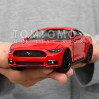 Tomtomo Ford Mustang GT L Diecast Miniatur Mobil Mobilan Mainan Anak