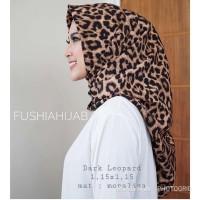 Harga jilbab instan segitiga leopard loreng macan   antitipu.com