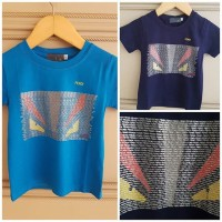 BAJUKIDDIE FENDI MONSTER TOP . kaos anak laki branded merk import